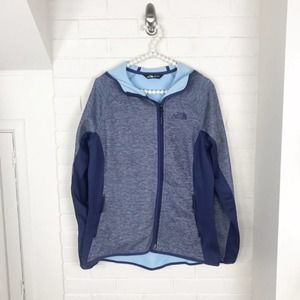 {The North Face} Lightweight Fleece Zip Jacket